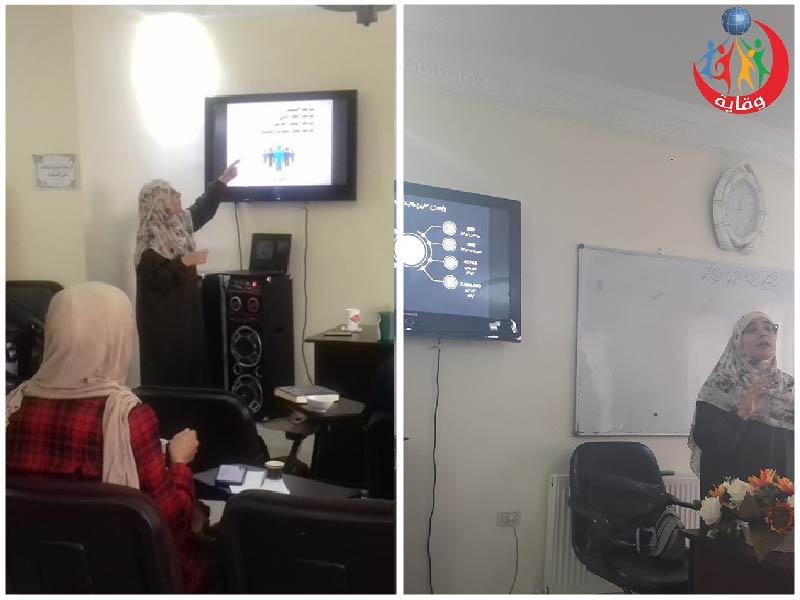 محاضرتين للمدربة إسراء القضاة للأمهات في عمان – الأردن 2019