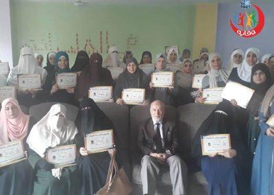 دورة إعداد محاضرين في وقاية الشباب الزرقاء – الأردن 2019