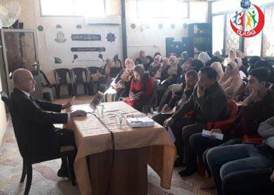 دورة إعداد محاضرين في وقاية الشباب لواء الكورة / إربد – الأردن 2019