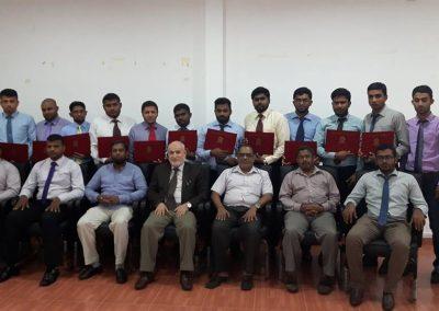 دورة إعداد المدربين الخامسة في العاصمة السريلانكية كولمبو 2016