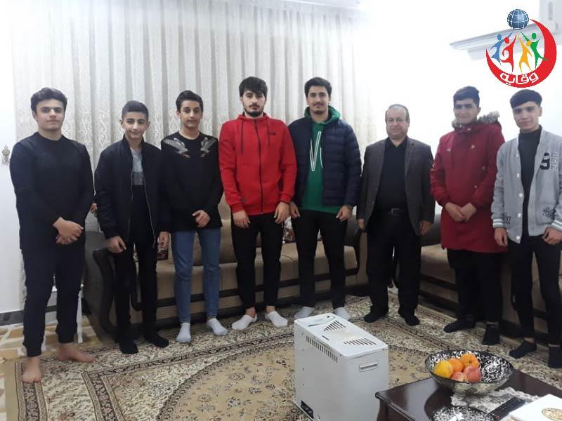 محاضرة للمدرب الأستاذ جاسم محمد حول وقاية الشباب من الأمراض المنقولة جنسياً في كردستان 2019