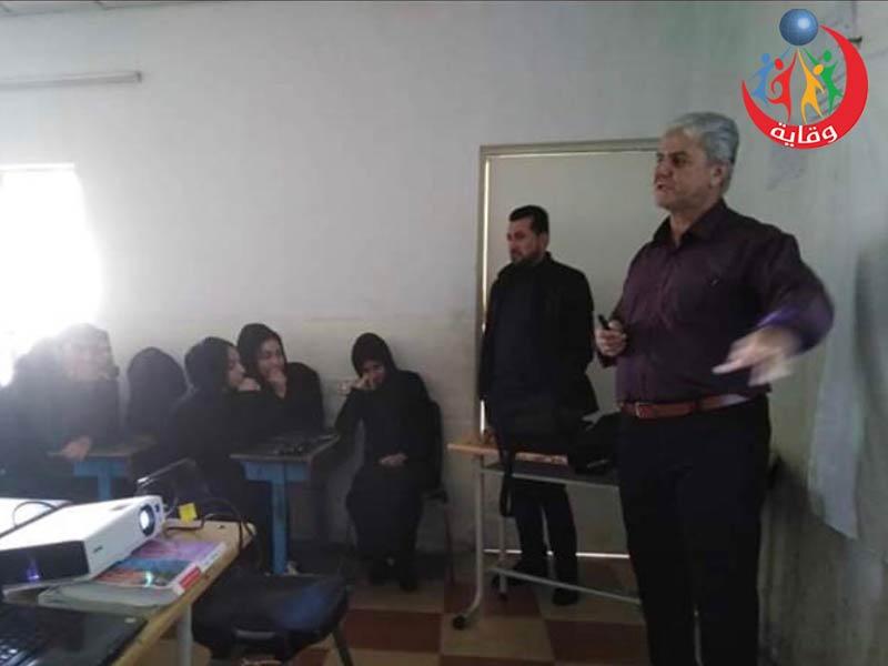 دورة حول الأمراض المنقولة جنسياً يقدمها المدرب هداية هورامى في كردستان 2019