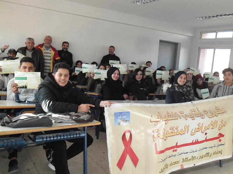 استمرار الحملة التوعوية لفريق المشروع في المغرب 2019