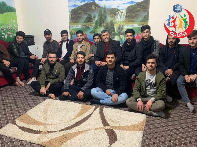 محاضرة حول الأمراض المنقولة جنسياً في مركز الاتحاد الإسلامي للمدرب الشيخ قيس في كردستان 2019