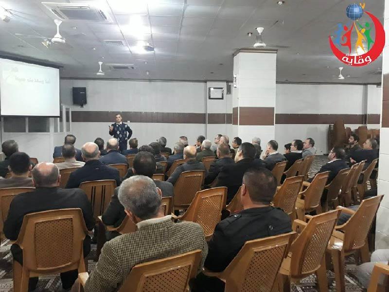 محاضرة للمدرب لزكين دوسكى حول الأمراض المنقولة جنسياً في كردستان 2019