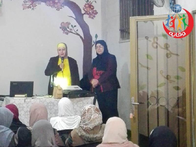 محاضرة جديدة لـِ أ.فايزة شقور و م.سها العزة حول إدمان المواقع الإباحية وحول الأمراض المنقولة جنسياً في الأردن 2019