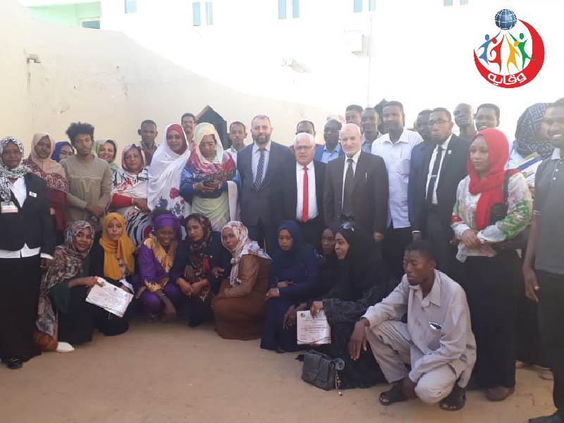 دورة تدريبية للمدربين د.عصام طراد و د.رفعت الزغول للشباب في السودان 2019