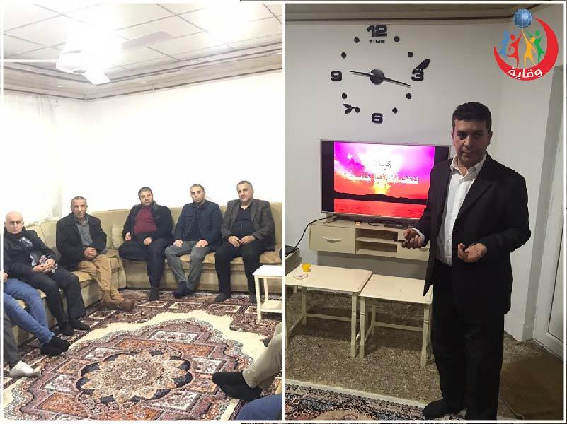 محاضرة للمدرب د. ديوالي حاجي للآباء حول التثقيف الجنسي الآمن – كردستان 2019