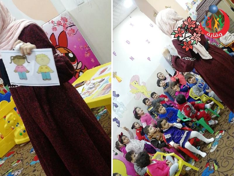 نشاط للمدربة نانسي اللمع للأطفال في إربد – الأردن 2019