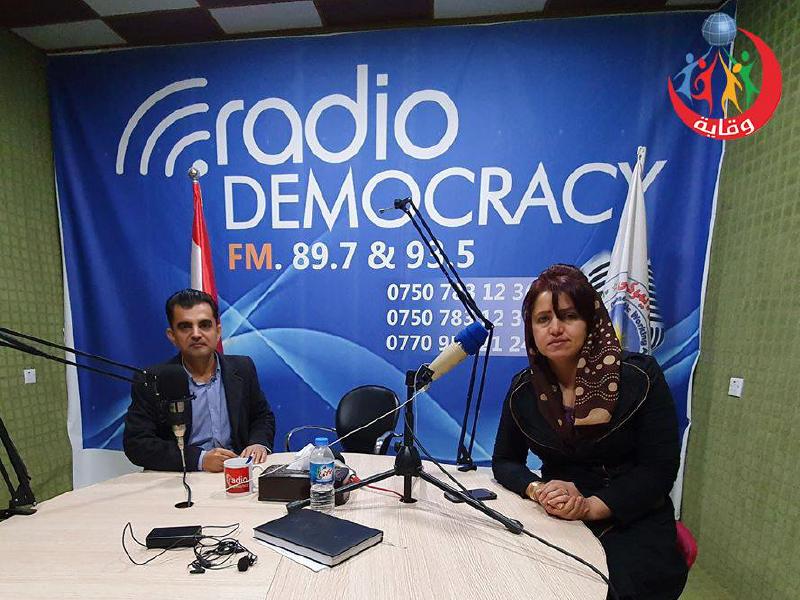 مقابلة إذاعية مع المدرب سؤران أبوبكر حول وقاية الشباب من الأمراض المنقولة جنسياً – كردستان 2019