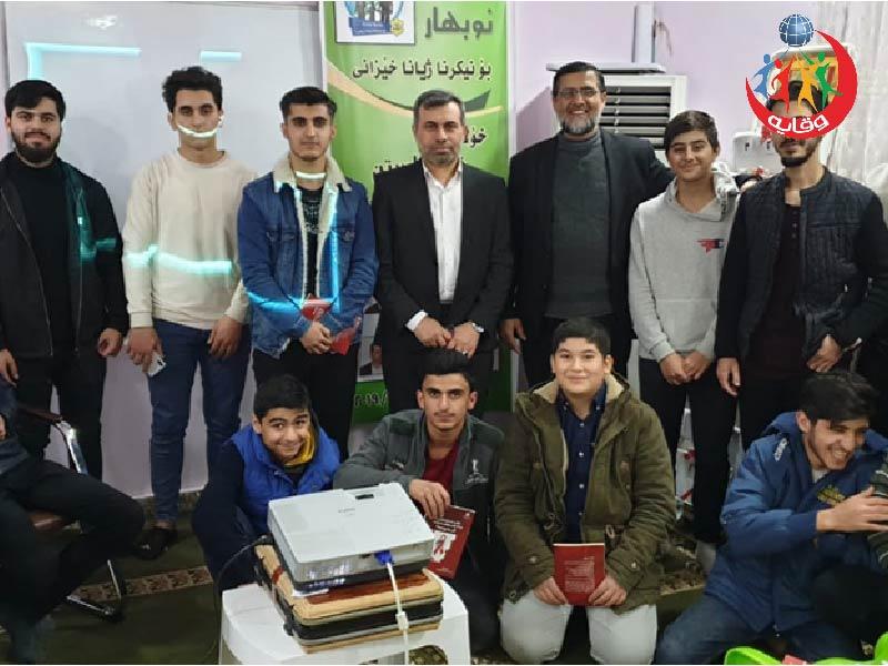 دورة يقدمها عدد من مدربي فريق كردستان بالتعاون منظمة نوبهار لتجديد حياة الأسرة 2019