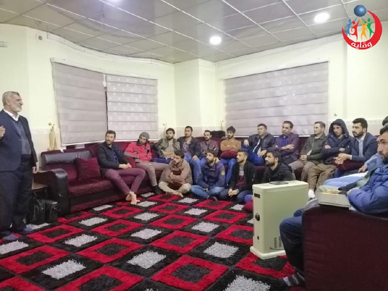محاضرة للشباب يقدمها المدرب قاسم صبري من كردستان 2020