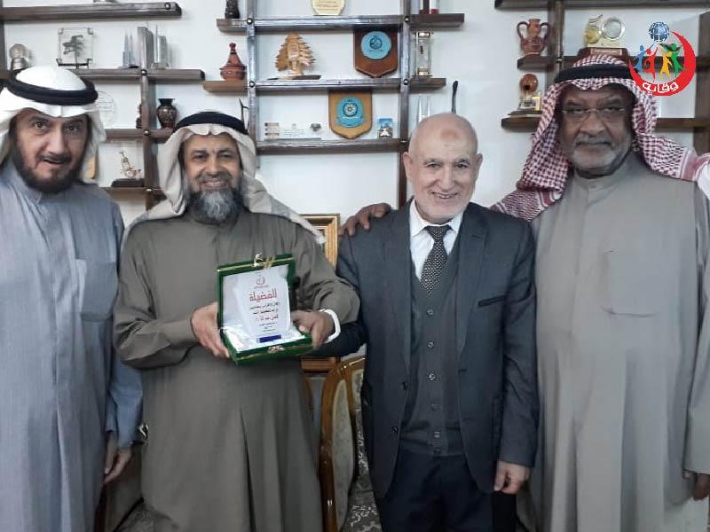 زيارة عدد من الأخوة الأفاضل من الكويت لإدراة مشروع وقاية الشباب في الأردن 2020