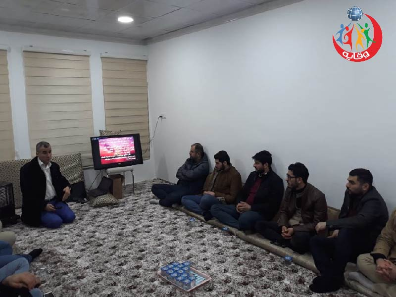 محاضرة حول الأمراض المنقولة جنسياً والإيدز قدمها المدرب الفاضل لزكين دوسكى في كردستان 2020