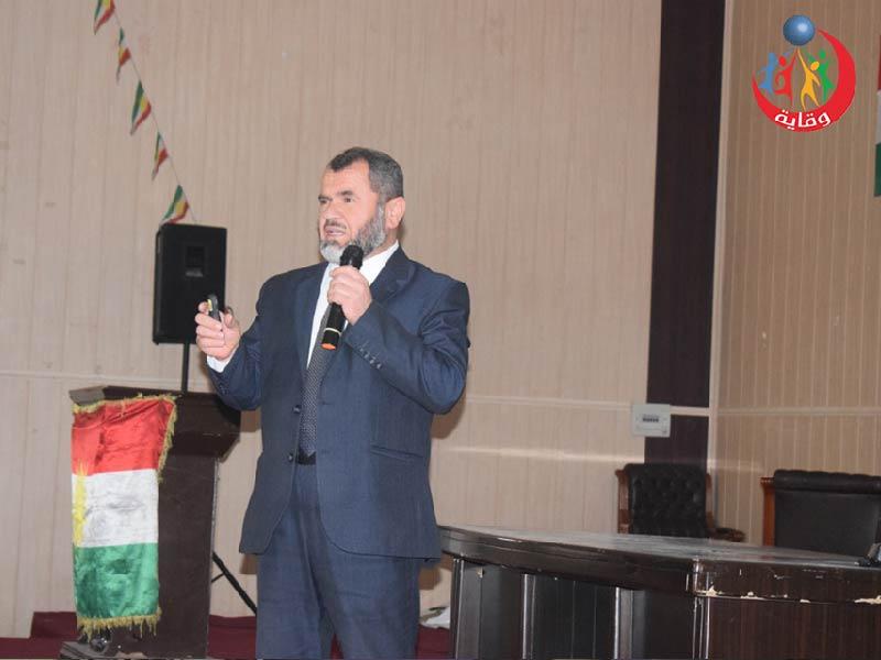 محاضرة لفضيلة الشيخ د.بهاء الدين عبدالمغيث في كردستان 2020