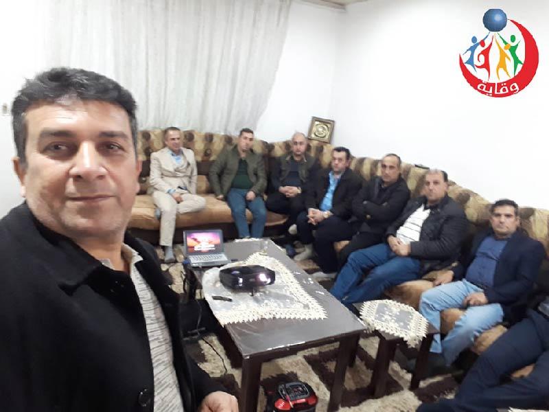 محاضرة حول التثقيف الجنسي الآمن يقدمها المدرب الدكتور ديوالي حاجي من كردستان 2020