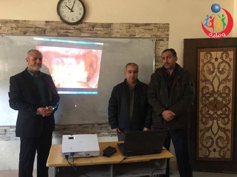 محاضرة للمدرب الفاضل هيداية هورامى في كردستان 2020
