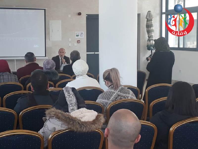 محاضرة حول مشروع وقاية الشباب في المدارس المستقلة في عمان – الأردن 2020