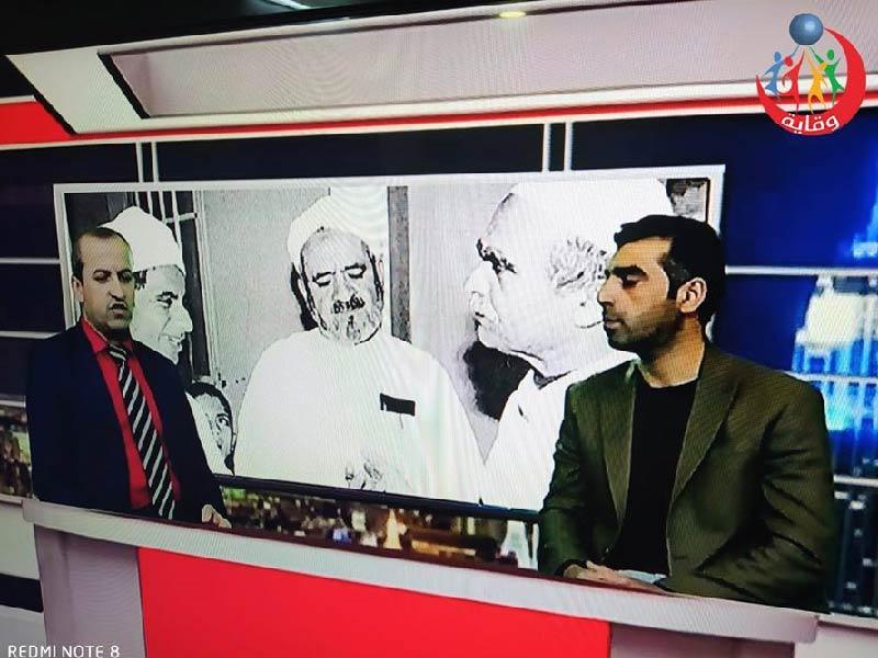 مقابلة مع المدرب هاشم خورشيد للحديث حول التثقيف الجنسي الآمن على تلفزيون بيشمركه – كردستان 2020